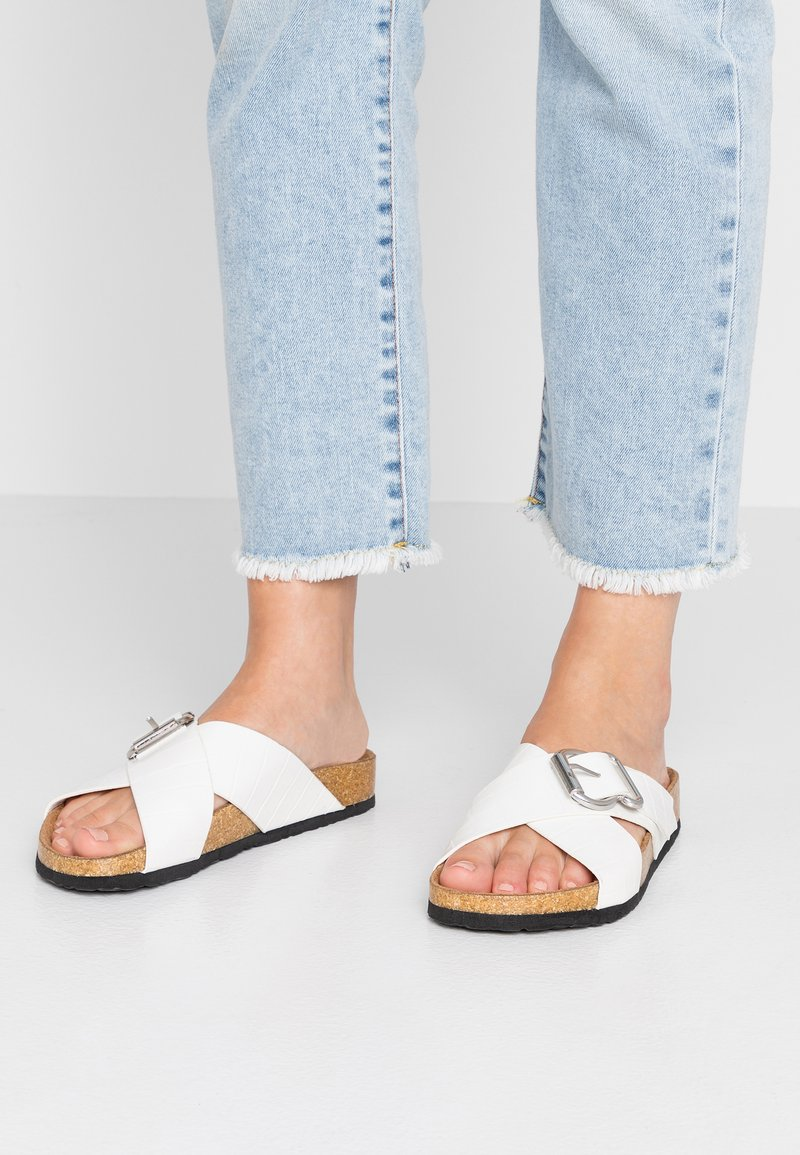 New Look - FLAMENCO - Domácí obuv - white