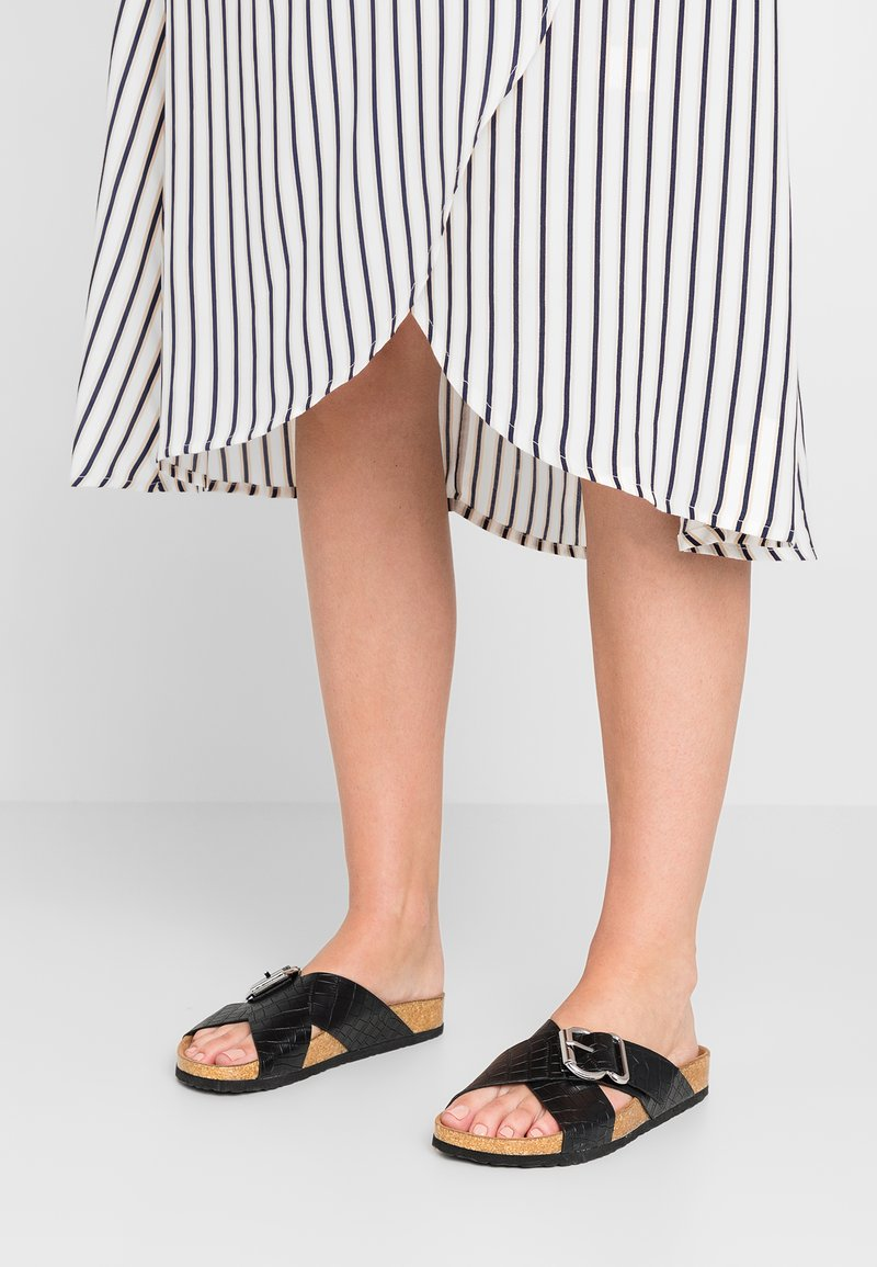 New Look - FLAMENCO - Chaussons - black