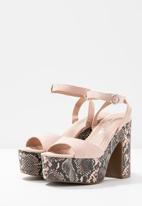 New Look - SCARED - High heeled sandals - oatmeal - 4
