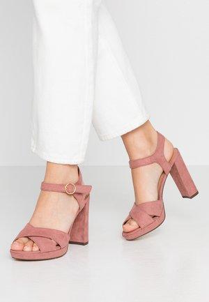 SANDIEGO - Sandaler med høye hæler - light pink