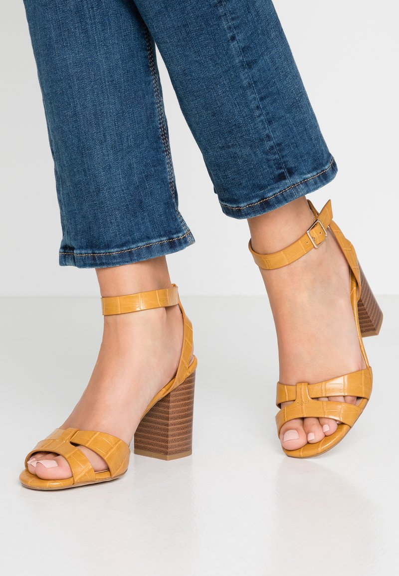 New Look - PENNY  - High Heel Sandalette - bright yellow