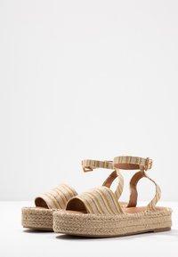 New Look - HAPPYHOUR  - Platform sandals - orange/yellow - 4