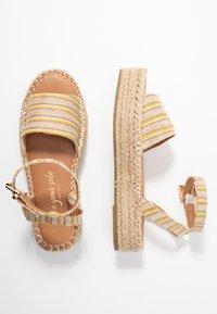 New Look - HAPPYHOUR  - Platform sandals - orange/yellow - 3