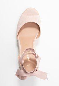 New Look - PADY - Sandály na vysokém podpatku - oatmeal - 3