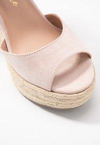 New Look - PADY - Sandály na vysokém podpatku - oatmeal - 2