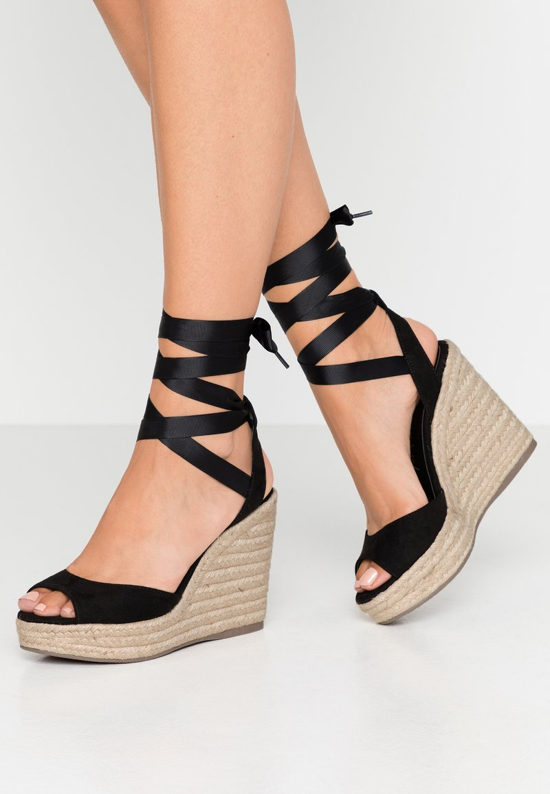 New Look - PADY - Højhælede sandaletter / Højhælede sandaler - black