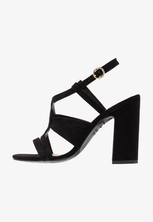 SWIRLEY  - Korolliset sandaalit - black