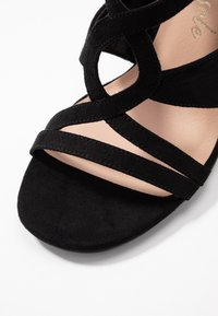 New Look - SWIRLEY  - Sandály na vysokém podpatku - black - 2