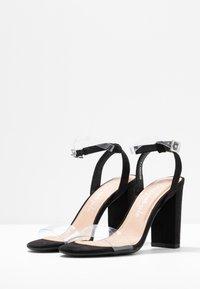 New Look - SHOKA - Sandales à talons hauts - black - 4