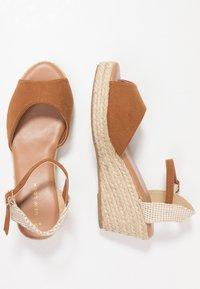 New Look - PAT - Platform sandals - tan - 3
