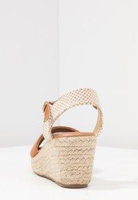 New Look - PAT - Platform sandals - tan - 5