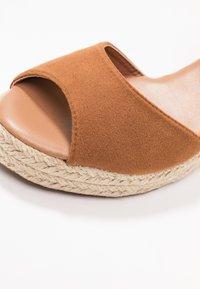 New Look - PAT - Platform sandals - tan - 2
