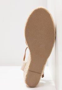 New Look - PAT - Platform sandals - tan - 6