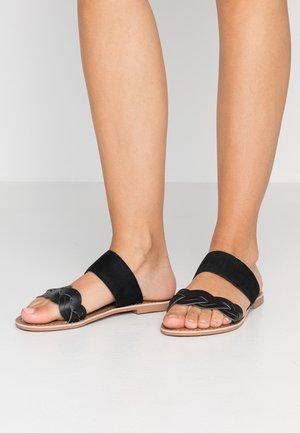 FLAMINGO - Pantofle - black