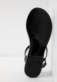 New Look - Sandály s odděleným palcem - black - 6
