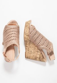 New Look - OLIVE - Sandali con tacco - rose gold - 3