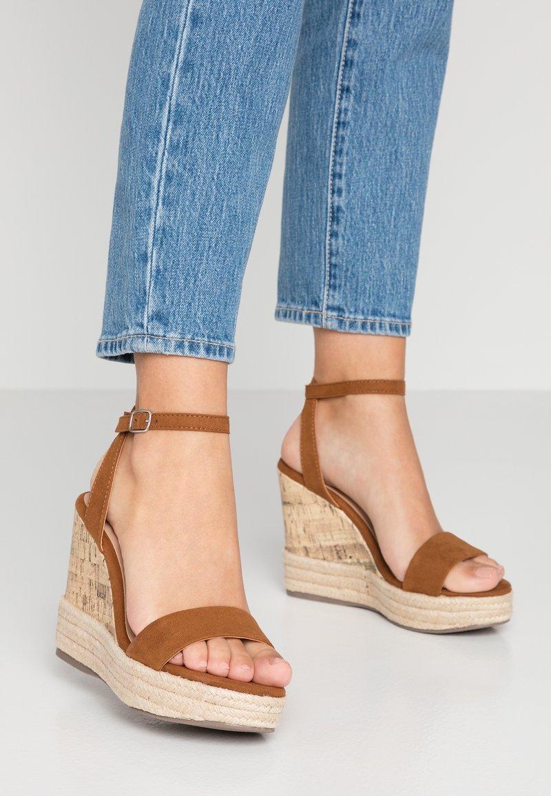 New Look - OTTER - Sandales à talons hauts - tan