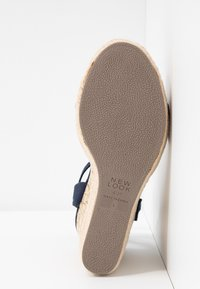New Look - OTTER - Sandály na vysokém podpatku - navy - 6