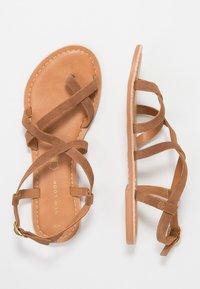 New Look - HAMMOCK - T-bar sandals - tan - 3