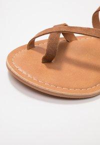 New Look - HAMMOCK - T-bar sandals - tan - 2
