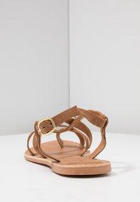 New Look - HAMMOCK - T-bar sandals - tan - 5