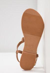 New Look - HAMMOCK - T-bar sandals - tan - 6