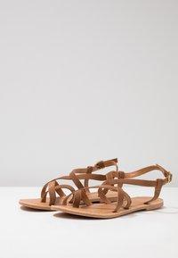 New Look - HAMMOCK - T-bar sandals - tan - 4