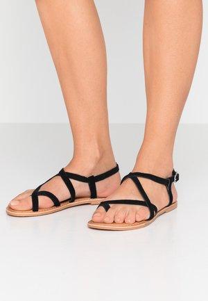 HAMMOCK - Sandalias de dedo - black