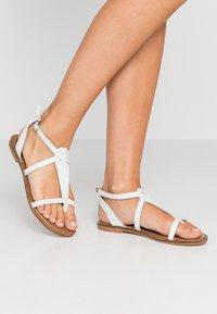 New Look - HAMPTONS - Varvassandaalit - white - 0