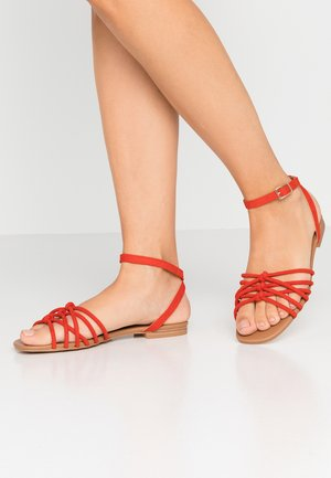 INTER - Sandals - burnt orange