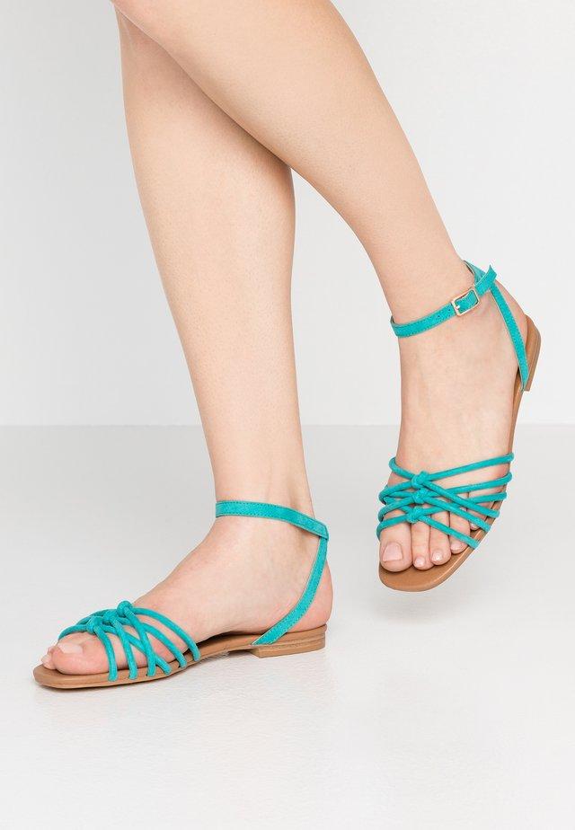 INTER - Sandals - teal