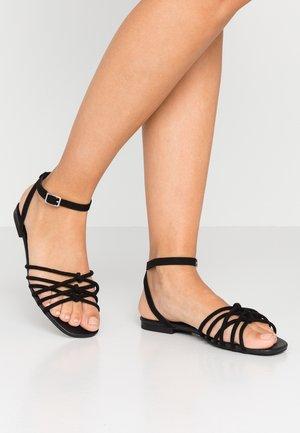 INTER - Sandals - black