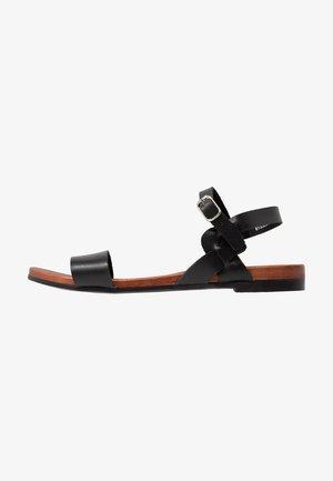 HATTY - Sandals - black