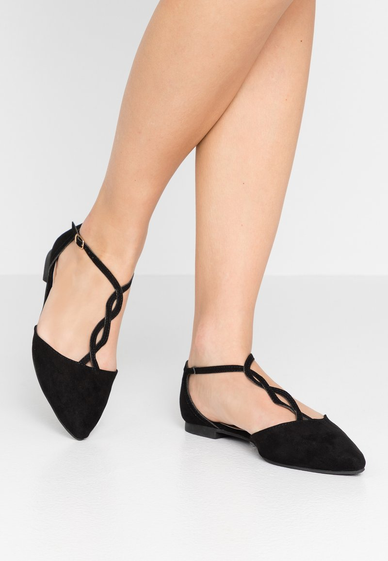 New Look - KURL - Ballerinasko m/ rem - black