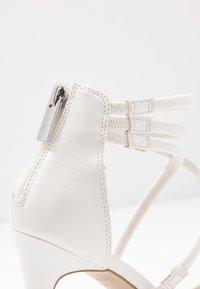 New Look - SIGNED  - Sandales à talons hauts - white - 2