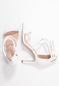 New Look - SIGNED  - Sandales à talons hauts - white - 3