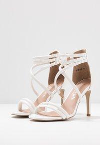 New Look - SIGNED  - Sandales à talons hauts - white - 4