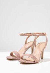 New Look - SCORPION - Sandály na vysokém podpatku - rose gold - 4