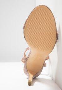 New Look - SCORPION - Sandály na vysokém podpatku - rose gold - 6