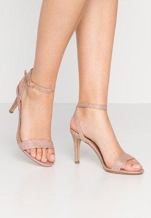 SCORPION - Sandály na vysokém podpatku - rose gold