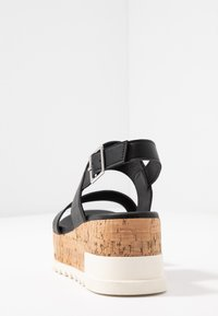New Look - PALOMAS - Sandalias con plataforma - black - 5