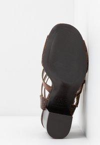 New Look - PENG - Sandály na vysokém podpatku - brown - 6