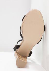 New Look - PORKS - Sandali con tacco - black - 6