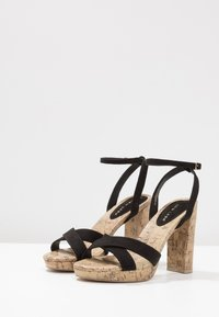 New Look - PORKS - Sandali con tacco - black - 4