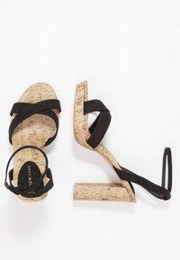 New Look - PORKS - Sandali con tacco - black - 3