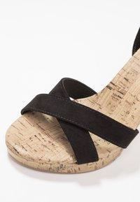 New Look - PORKS - Sandali con tacco - black - 2