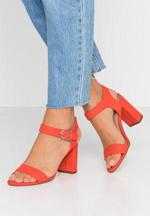 VIMS - High Heel Sandalette - bright orange