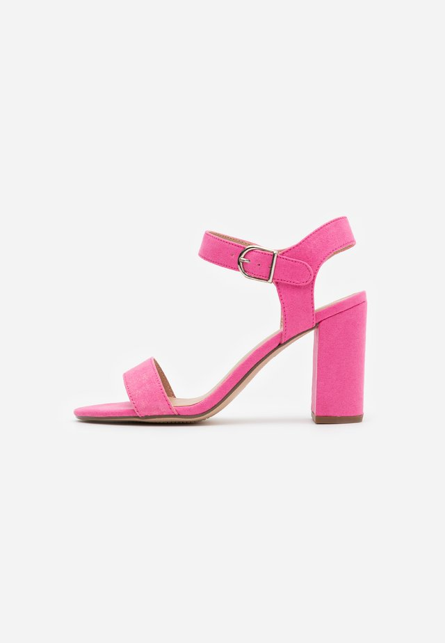 VIMS - High heeled sandals - bright pink