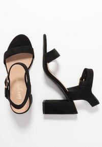 New Look - VIMS - High heeled sandals - black - 3