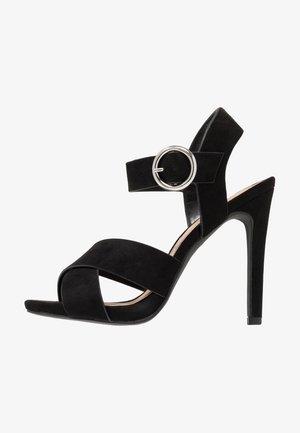 SORT - Sandály na vysokém podpatku - black